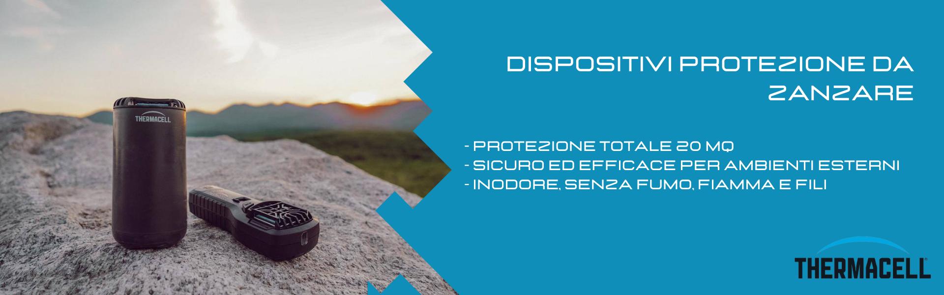 Dispositivi protezione da zanzare