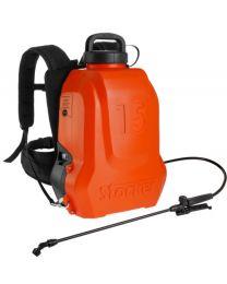 Pompa a zaino elettrica ERGO 15 L Li-Ion Stocker (3 - 5 BAR)