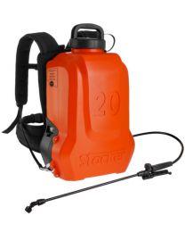 Pompa a zaino elettrica ERGO 20 L Li-Ion Stocker (3 - 5 BAR)